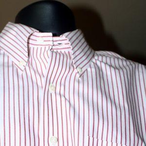 Brooks Bros. Long sleeve button cuff shirt.